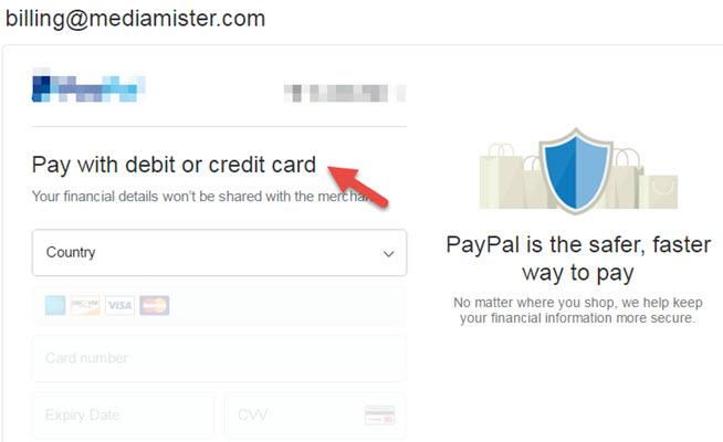 Debit and Credit Card Buy facebook website likes