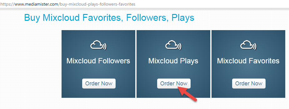 Buy Mixcloud Plays Order Now