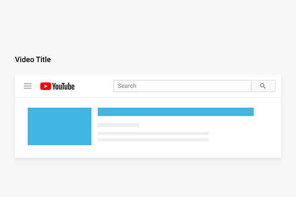 Create Videos with Searchable Titles