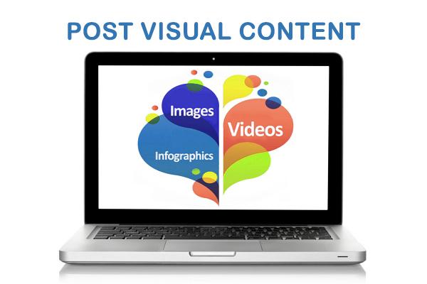 Post Visual Content