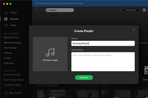 Create New Playlist Frequently