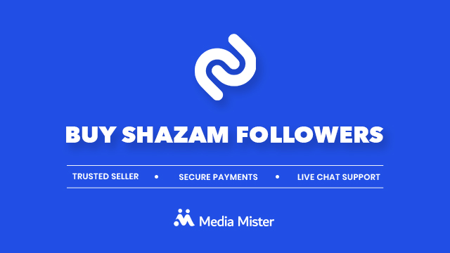Buy Shazam Followers | Price Starts From $5